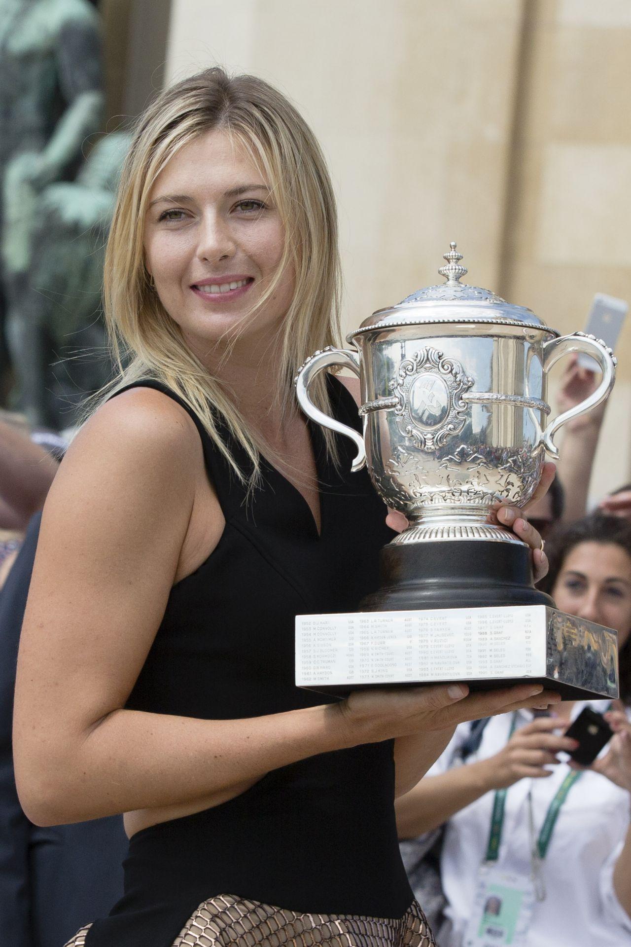 Maria Sharapova - 2014 French Open at Roland Garros ...