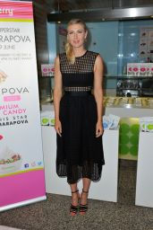Maria Sharapova - Photocall to Launch the New Sugarpova Pinkberry Topping at Selfridges (London) - June 2014
