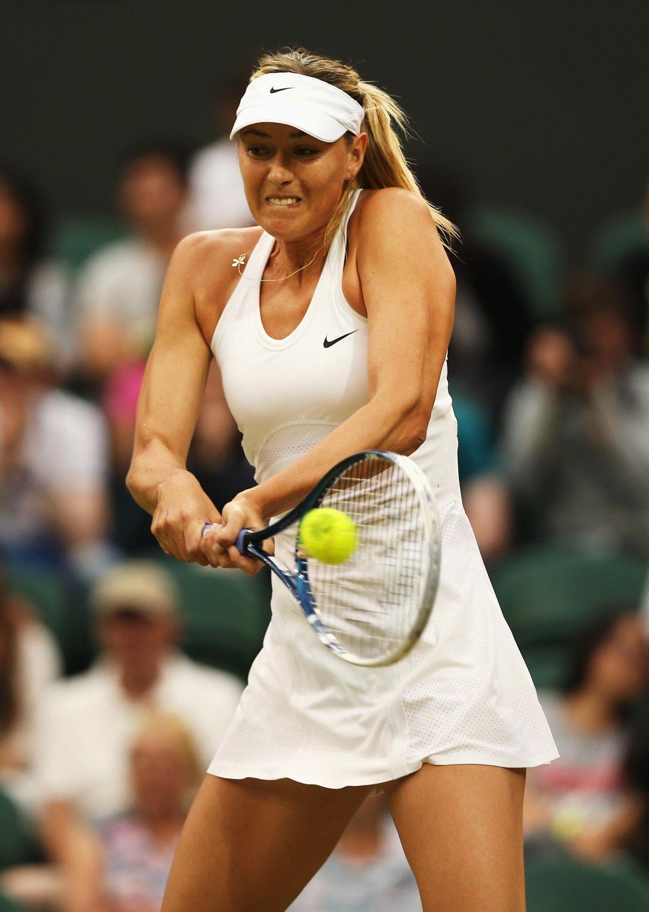 Maria Sharapova - Wimbledon Tournament 2015 - First Round