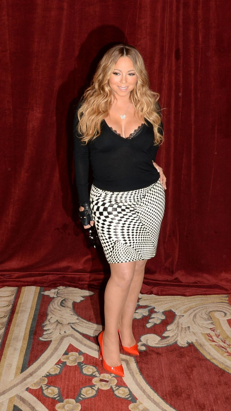 Mariah Carey Butterfly Launch In New York City June 2014