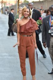 Meagan Good at Jimmy Kimmel Live in Hollywood - June 2014