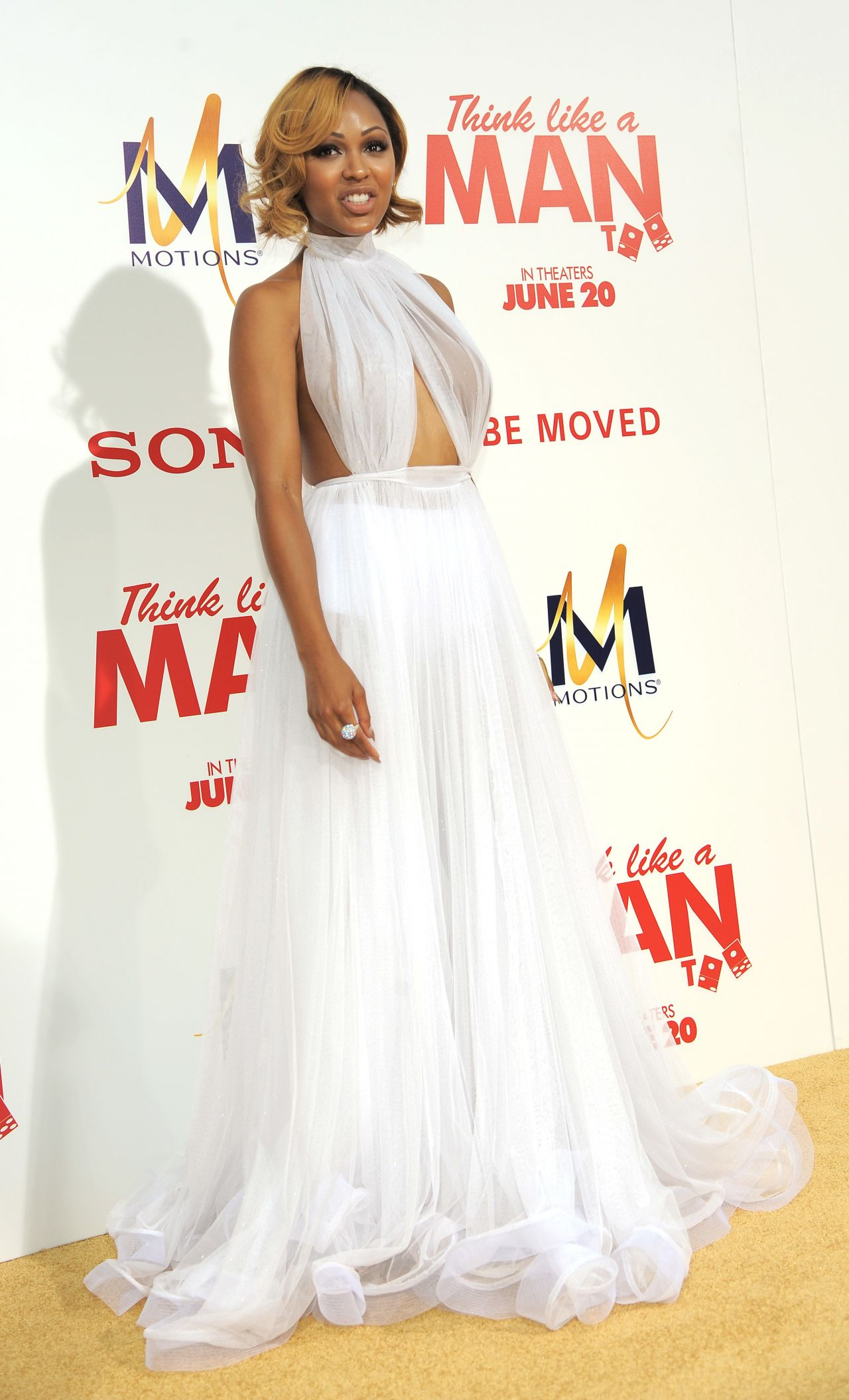 Meagan Good Think Like A Man Too Premiere In Los Angeles