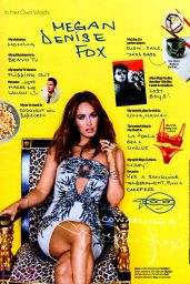 Megan Fox - Cosmopolitan Magazine August 2014 Issue