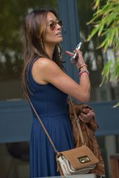 Mel Sykes Casual Style - Outside ITV Studios - June 2014