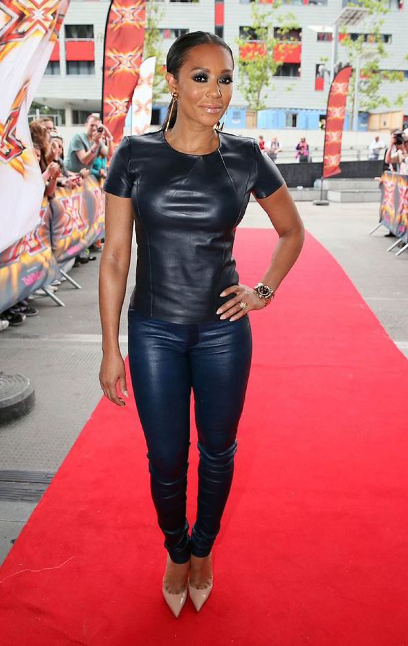 Melanie Brown Aka Mel B X Factor Auditions In London