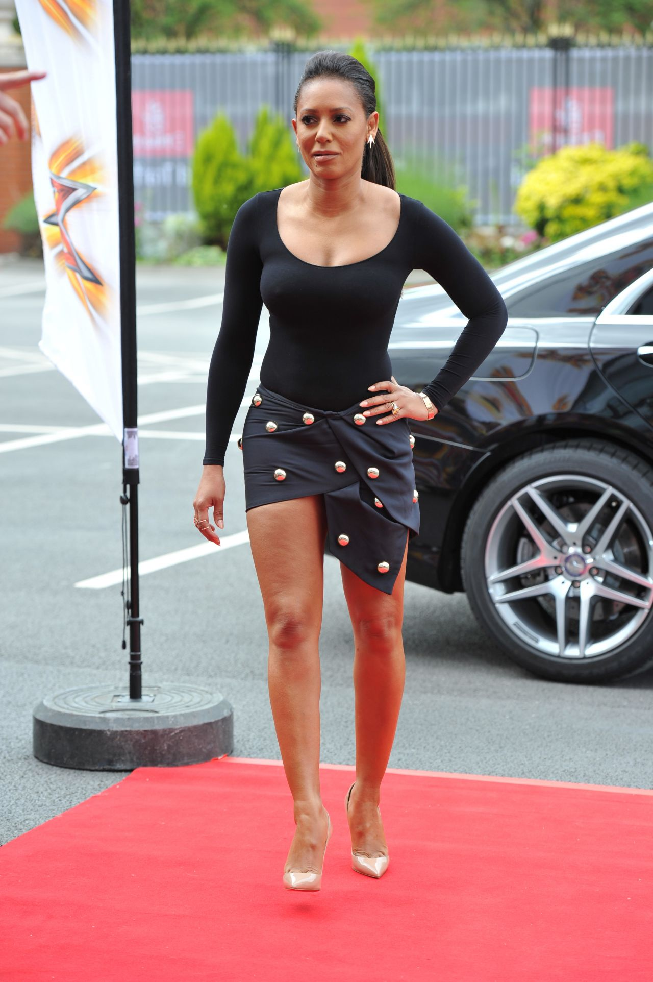 Melanie Brown X Factor Auditions In Manchester June 2014