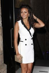 Michelle Keegan Celebrates Her 27th Birthday at Shaka Zulu Nightclub in London - June 2014