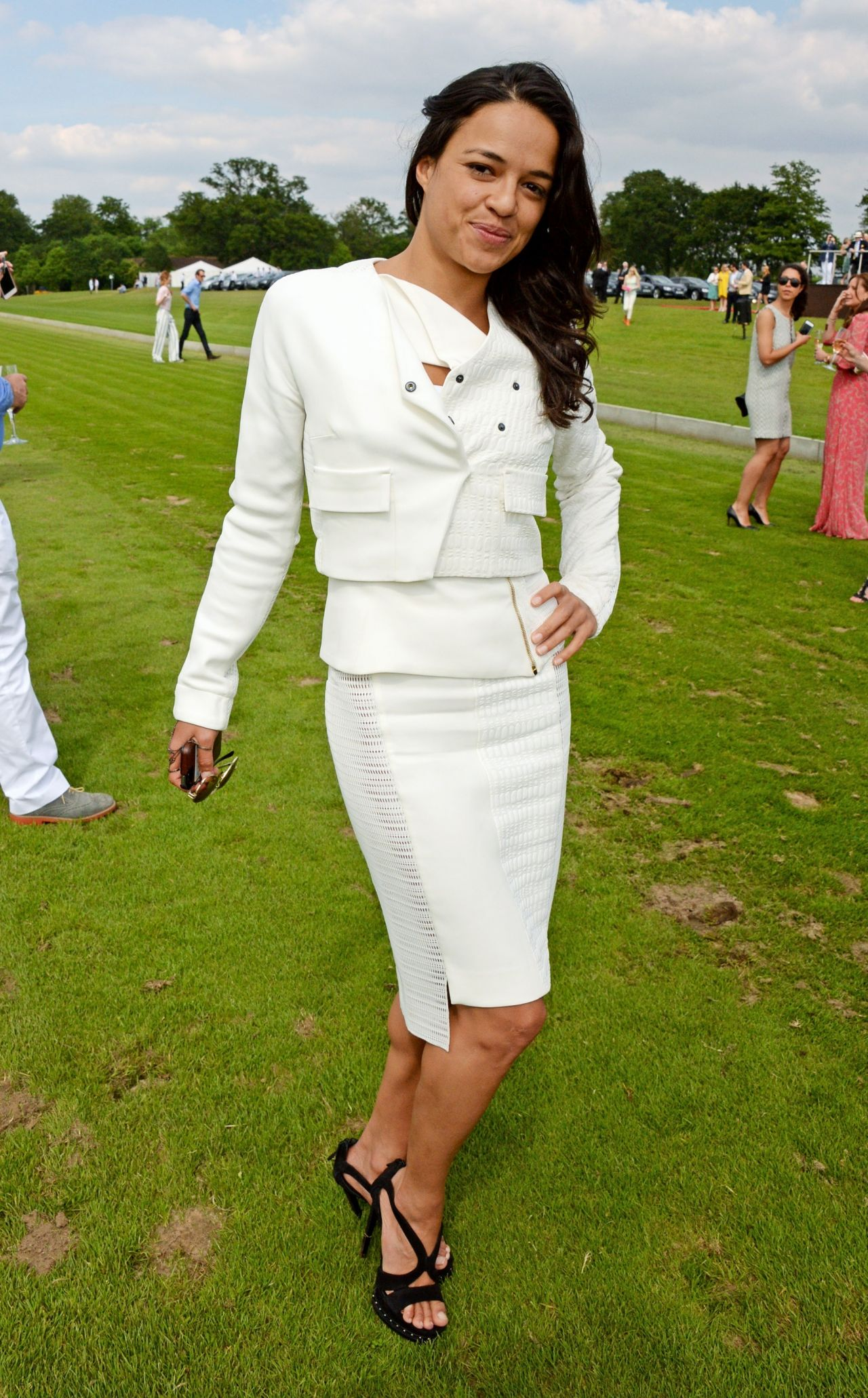 Michelle Rodriguez – 2014 Veuve Clicquot Polo Classic in Jersey City