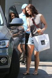 Minka Kelly in Shorts at Joan