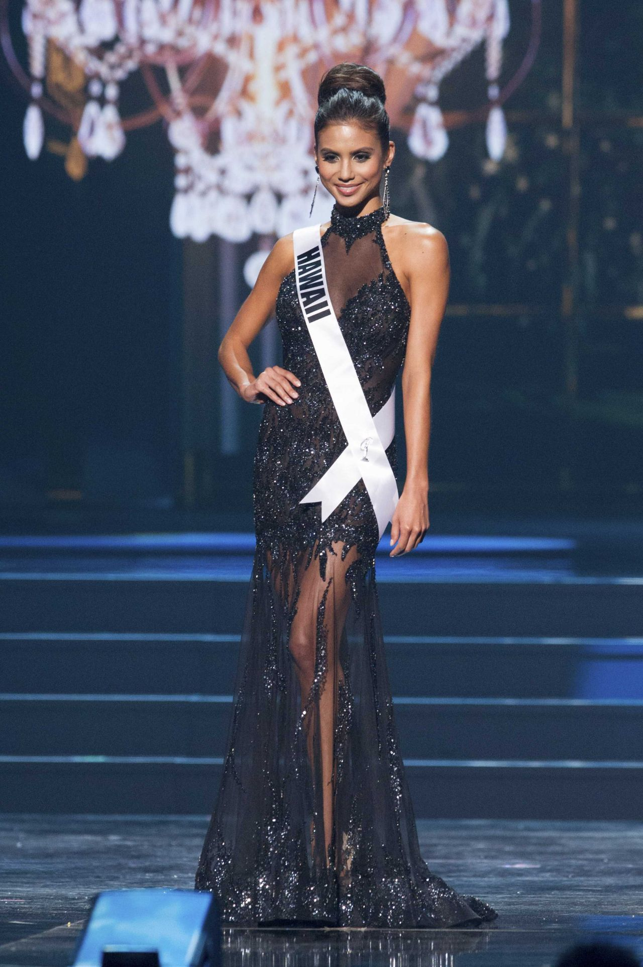 Moani Hara (Hawaii) - Miss USA Preliminary Competition - June 2014