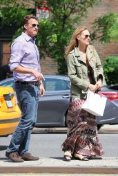 Molly Sims - Out in New York City - May 2014