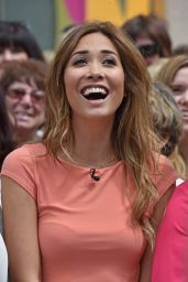 Myleene Klass at London Studios - June 2014