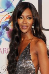 Naomi Campbell in Diane von Furstenber Dress at 2014 CFDA Fashion Awards
