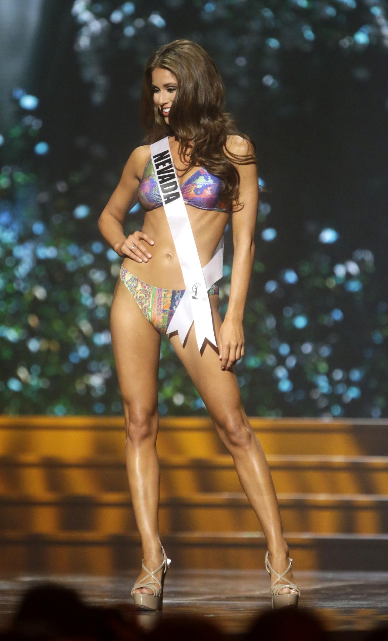 Nia Sanchez (Nevada) - Miss USA Preliminary Competition - June 2014