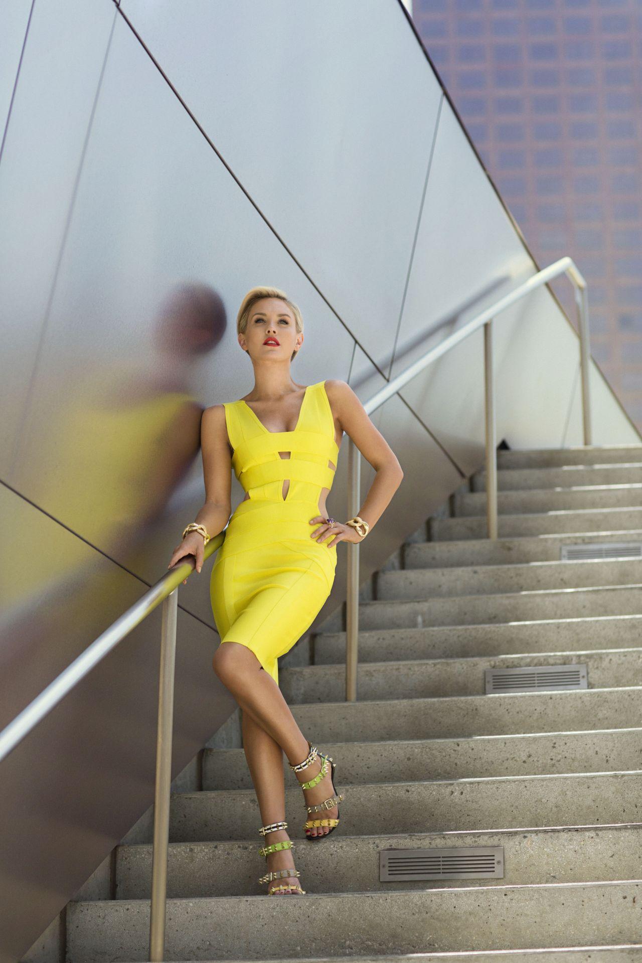 Nicky Whelan Photoshoot Cliche Magazine June July 2014 Issue