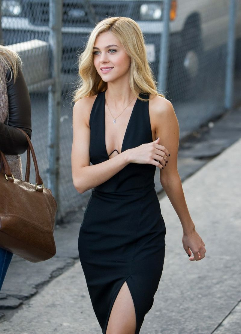 Nicola Peltz At Jimmy Kimmel Live In Hollywood June 2014