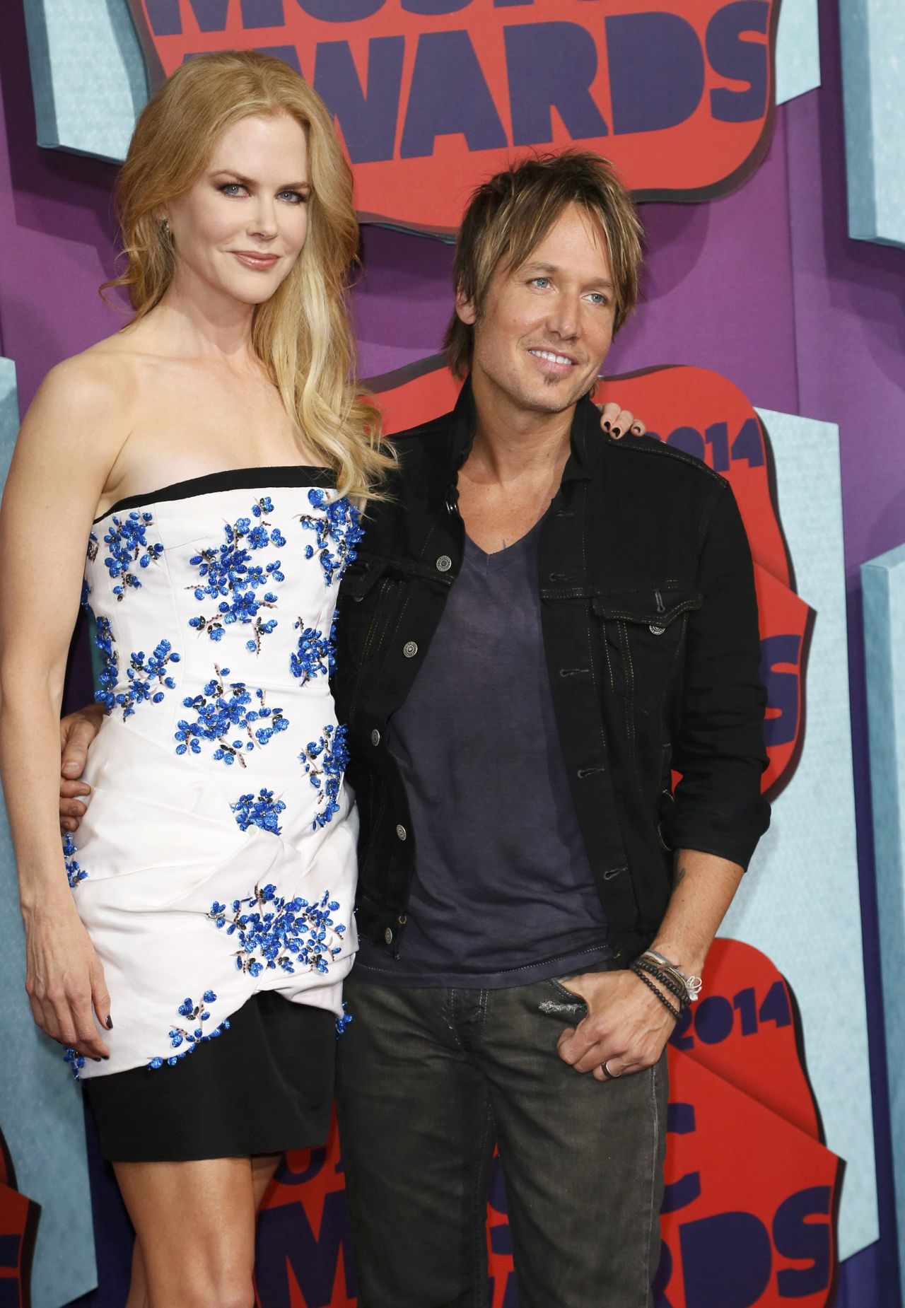 Nicole Kidman and Keith Urban - 2014 CMT Music Awards - June 4, 2014