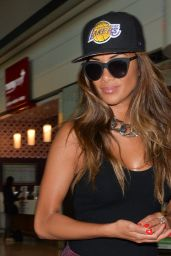Nicole Scherzinger - London Heathrow Airport - June 2014