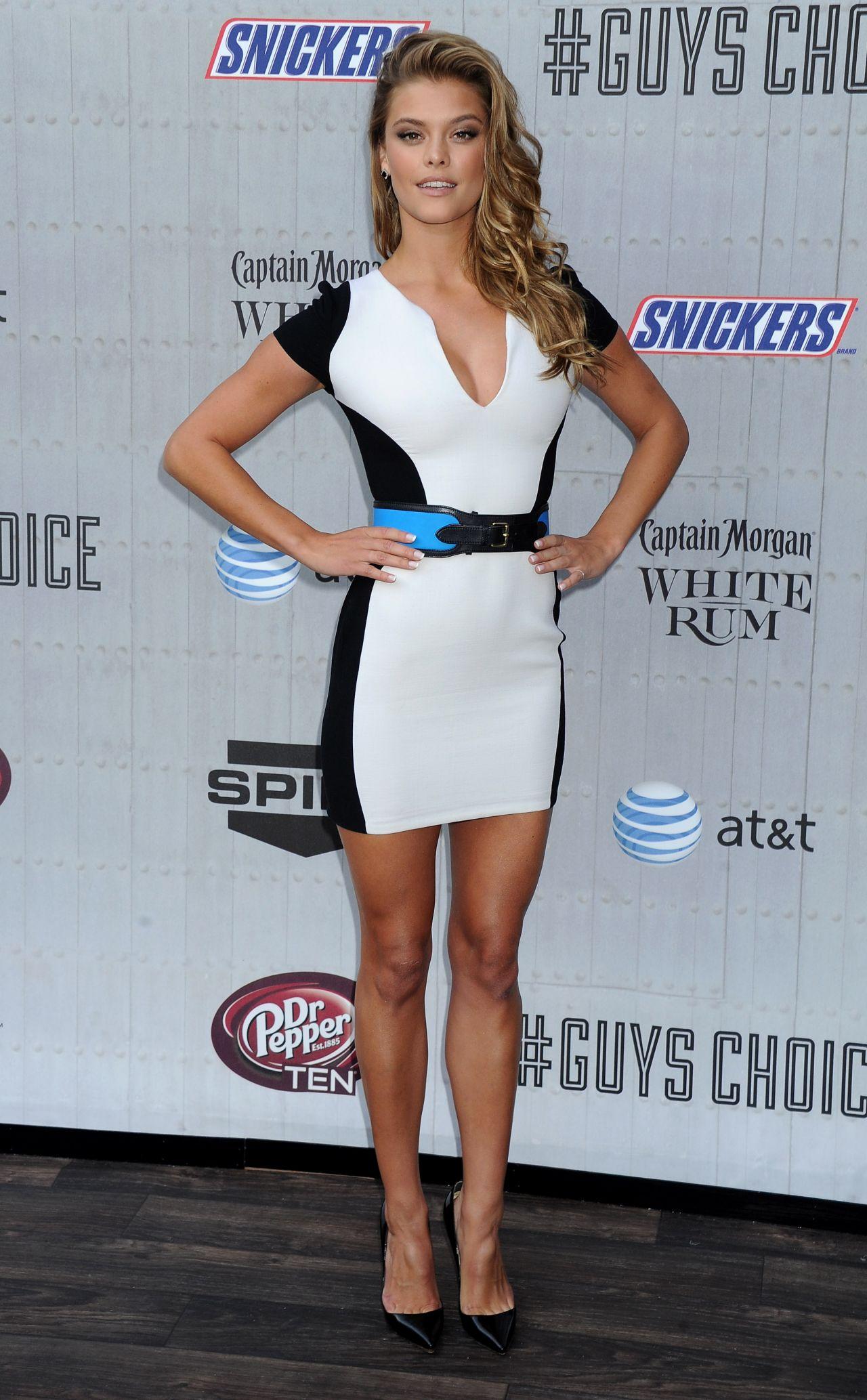 Nina Agdal 2014 Spike Tv S Guys Choice Awards