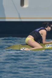 Nina Dobrev Bikini Candids - St. Tropez, June 2014