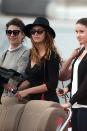 Nina Dobrev, Jessica Szohr and Emma Miller Enjoying a Shopping Day in Saint Tropez - June 2014