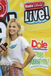 Olivia Holt – Radio Disney Live in Colorado, June 2014