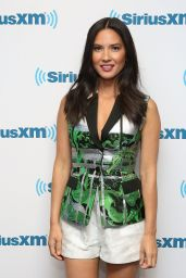 Olivia Munn at SiriusXM Studios in New York City - June 2014