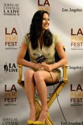 Olivia Munn - Coffee Talks: Actors 2014 LA Film Festival