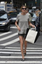 Olivia Palermo Casual Style - Out in New York City - June 2014