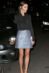 Olivia Palermo Night Out Style - Out in New York City - June 2014