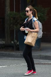 Olivia Wilde and Her Baby Son Otis - Out in New York City - June 2014
