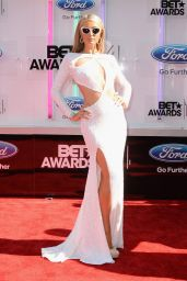 Paris Hilton on Red Carpert - 2014 BET Awards