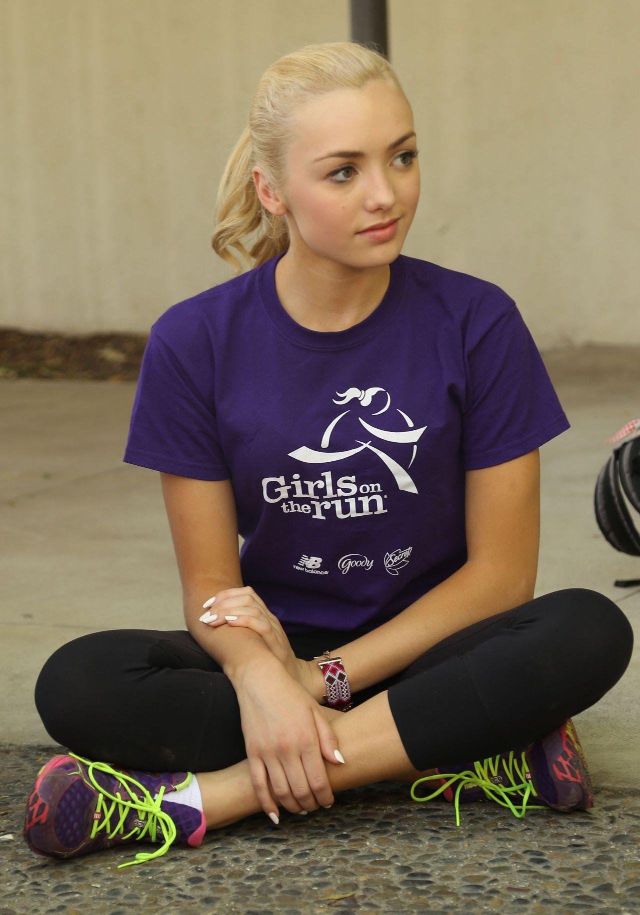 peyton list  u2013 girls on the run event in los angeles