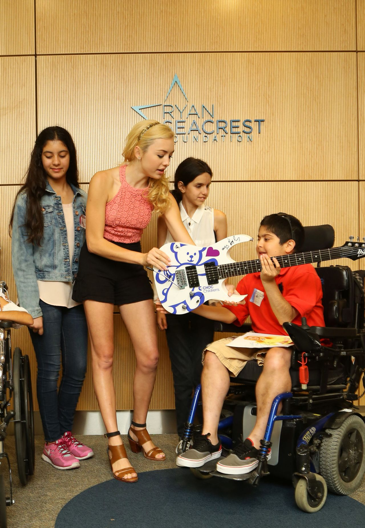 Peyton Roi List Ryan Seacrest Foundation At Childrens Hospital
