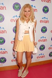 Pixie Lott - Evian Live Young Suite at Wimbledon in London - June 2014