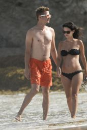 Rachel Bilson Bikini Candids - Beach in Barbados - June 2014