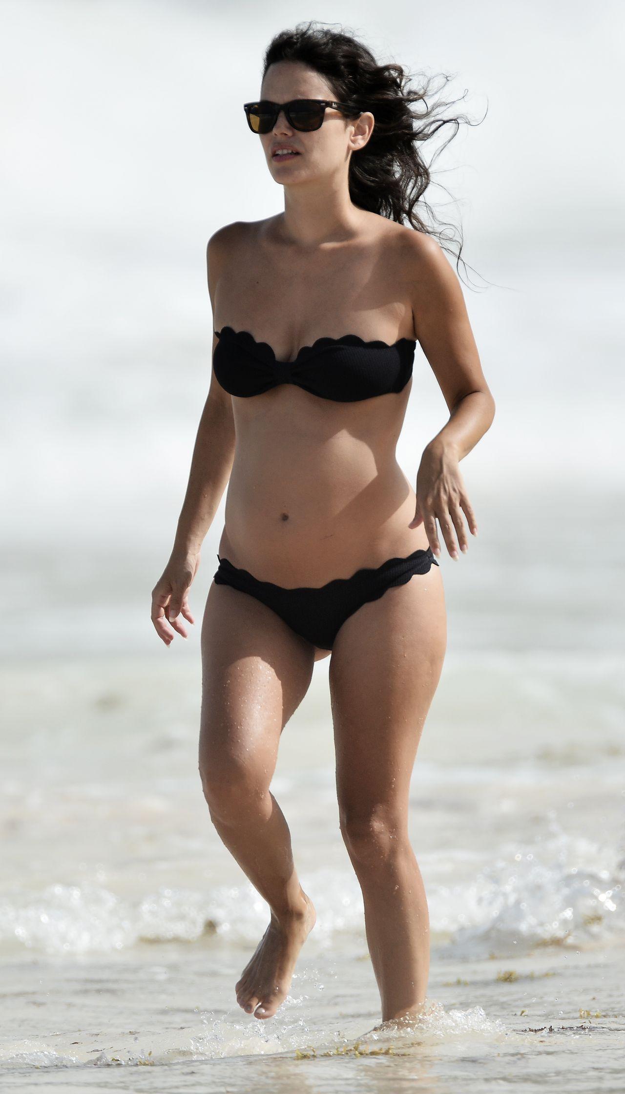 Rachel Bilson Bikini Candids Beach In Barbados June 2014