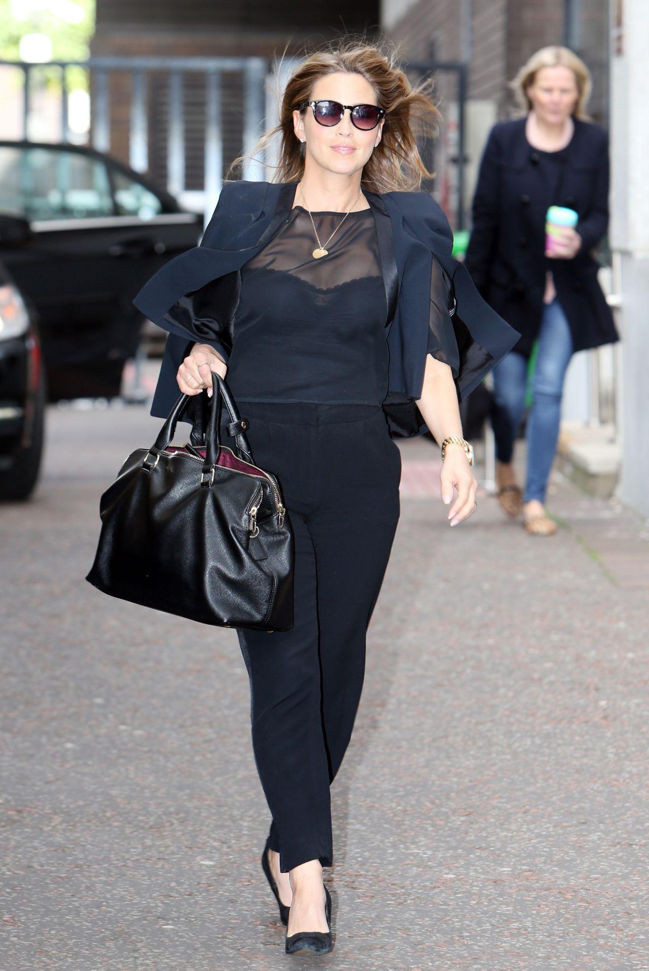 Rachel Stevens Casual Style - ITV Studios, June 2014