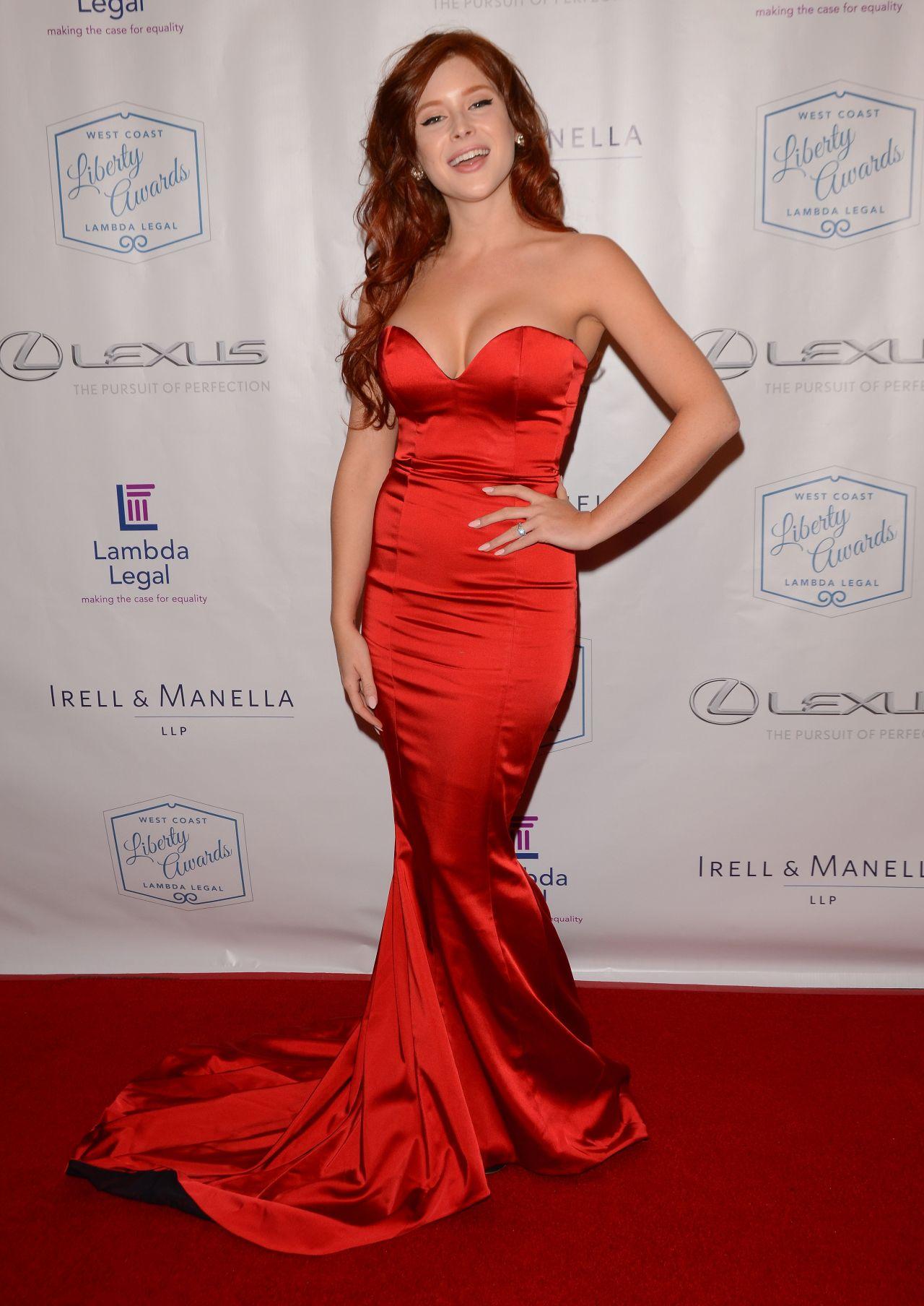 Renee Olstead - Lambda Legal's West Coast Liberty Awards ...