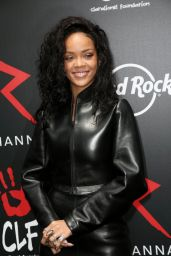 Rihanna - Charity T-Shirt Release Event - Hard Rock Cafe in Paris - June 2014