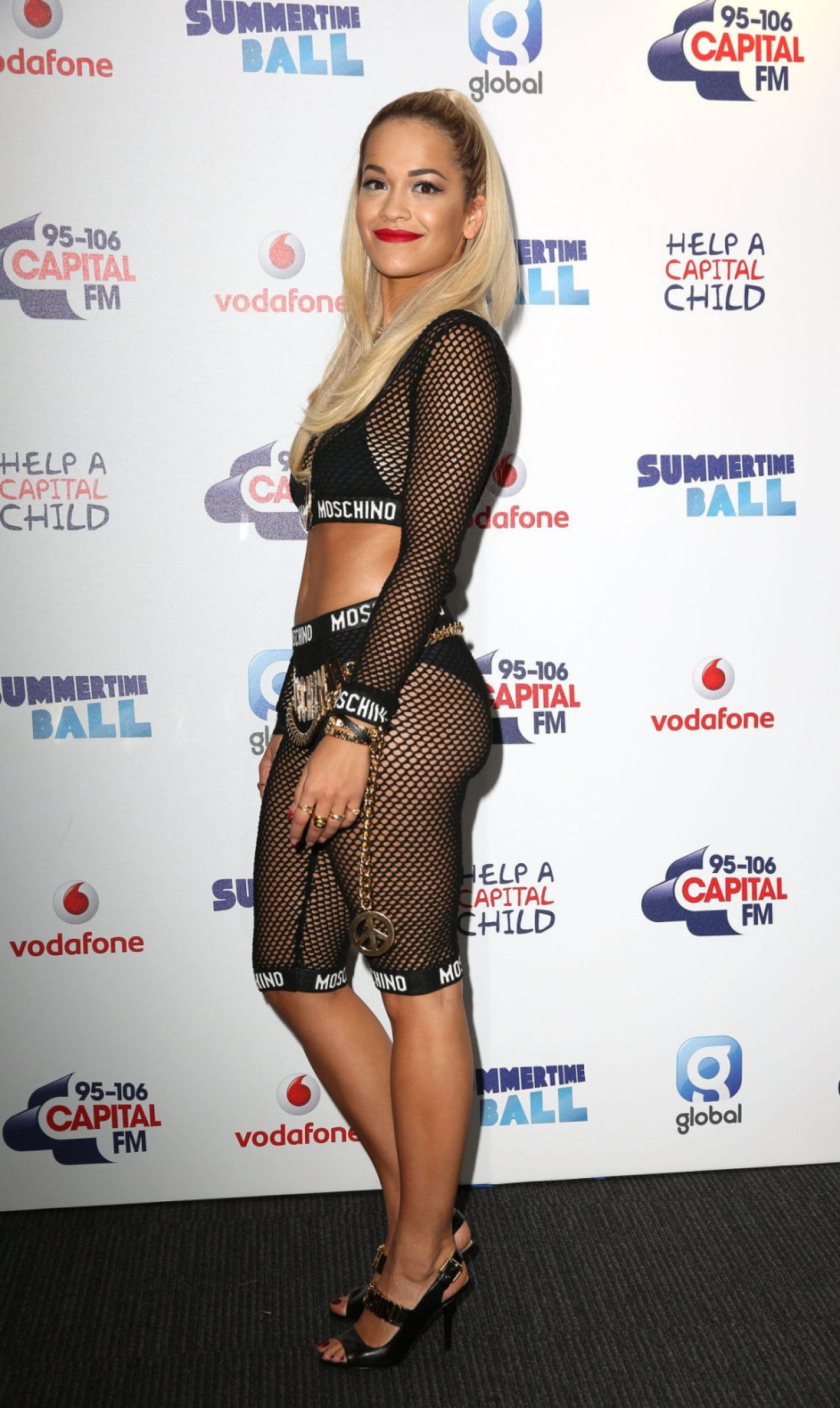 Rita Ora - 2014 Capital Summertime Ball in London