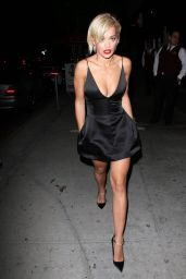Rita Ora Night Out Style - Bootsy Bellows Nightclub in West Hollywood - June 2014