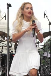 Rita Ora Performs at the 2014 Pride Parade in West Hollywood