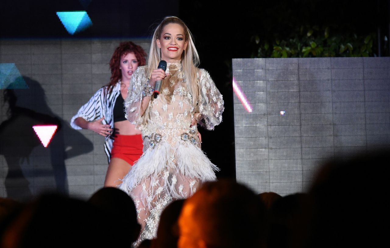 Rita Ora - Take-Two E3 Kickoff Party - June 2014