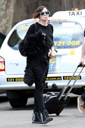 Rose McGowan Out in Sydney - June 2014