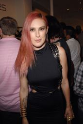 Rumer Willis at Zana Bayne Leather Fashion Show Party in Los Angeles