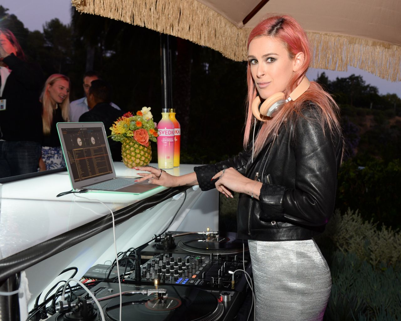 Rumer Willis – SVEDKA's Summer Samba in Beverly Hills – June 2014