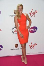 Sabine Lisicki – WTA Pre-Wimbledon 2014 Party in London
