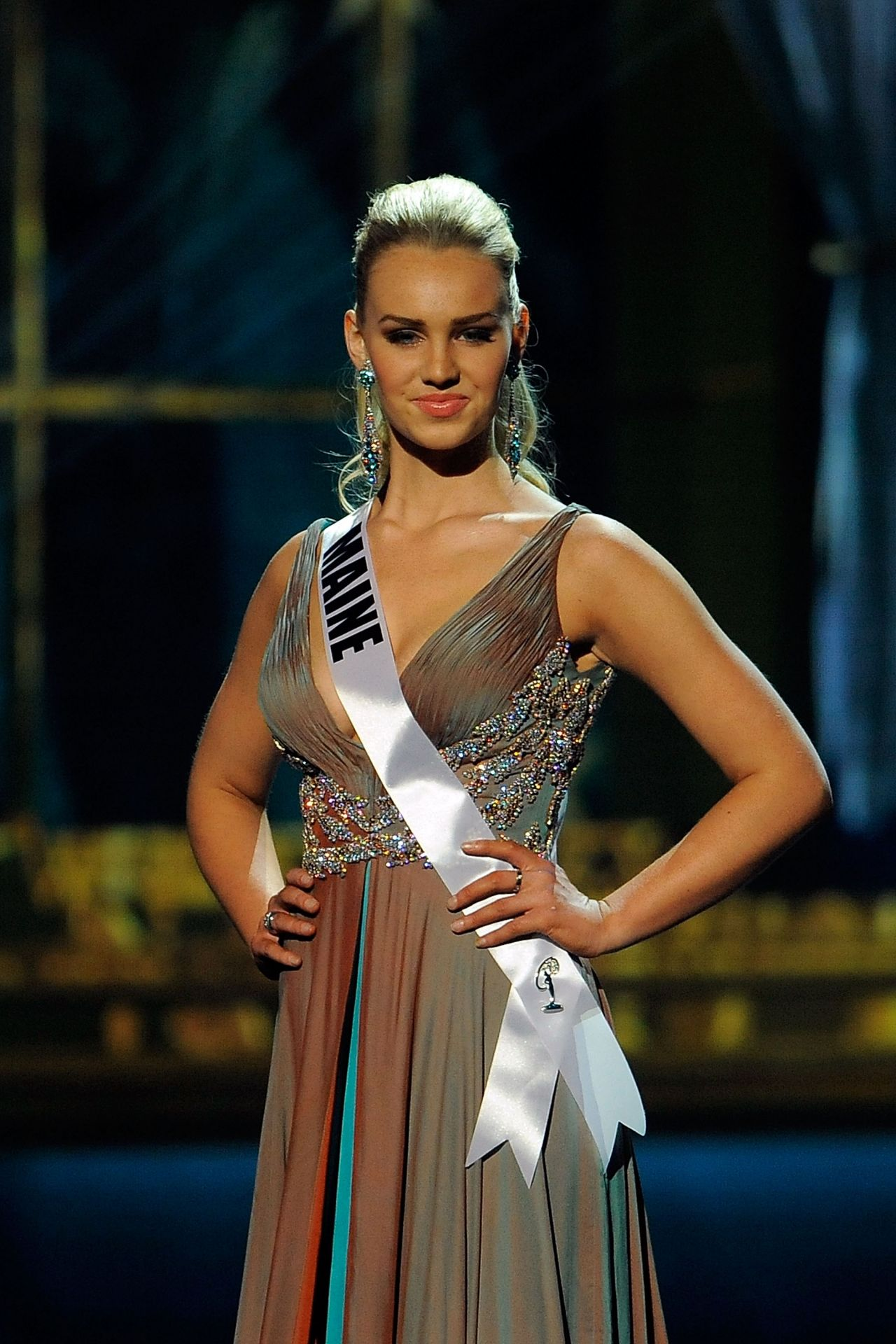 Samantha Dahlborg (Maine) - Miss USA Preliminary Competition - June 2014