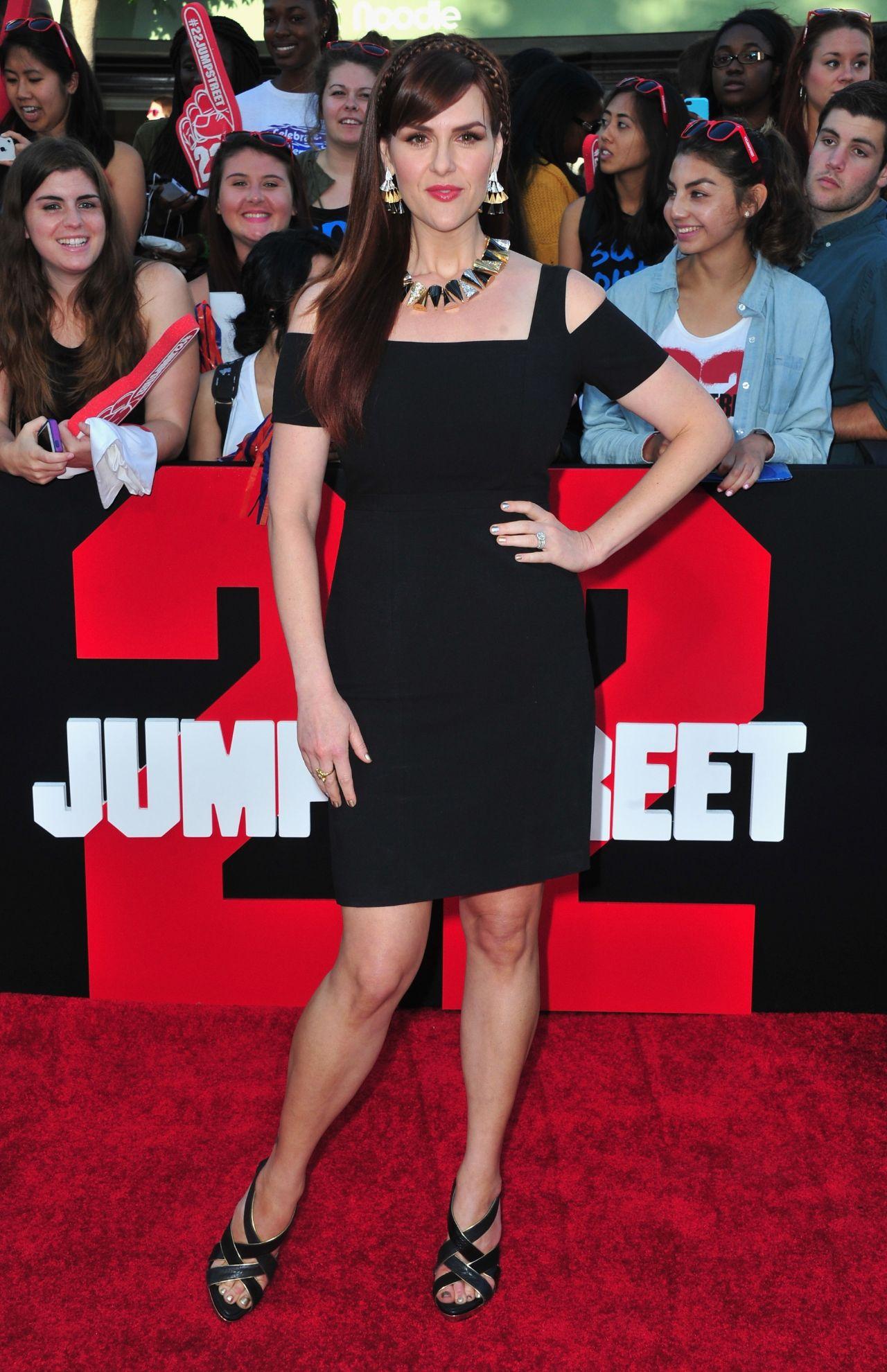Sara Rue – '22 Jump Street' Premiere in Los Angeles